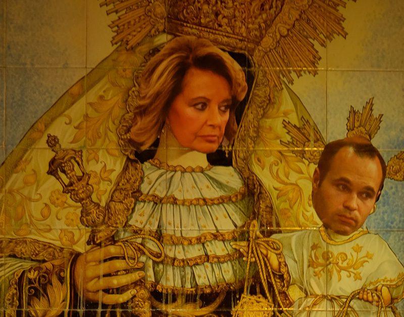 Sustituyen la Virgen del Carmen en Sevilla por María Teresa Campos