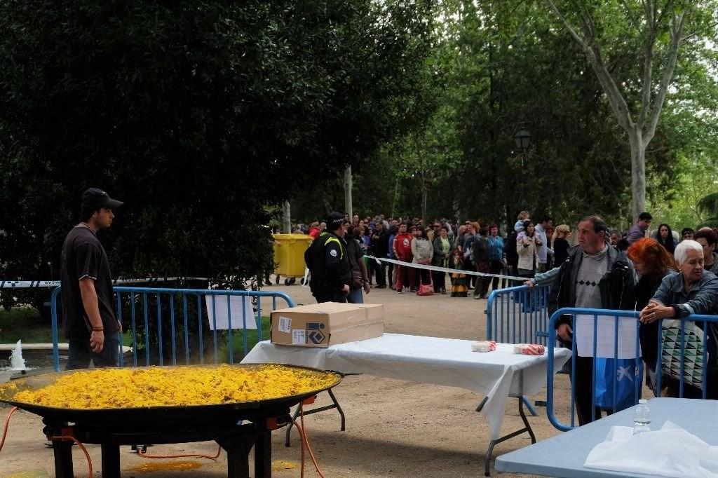 Paellada de San Isidro en Madrid