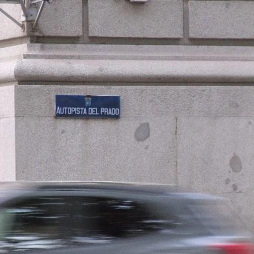 """El Paseo del Prado pasa a llamarse """"Autopista del Prado"""""""