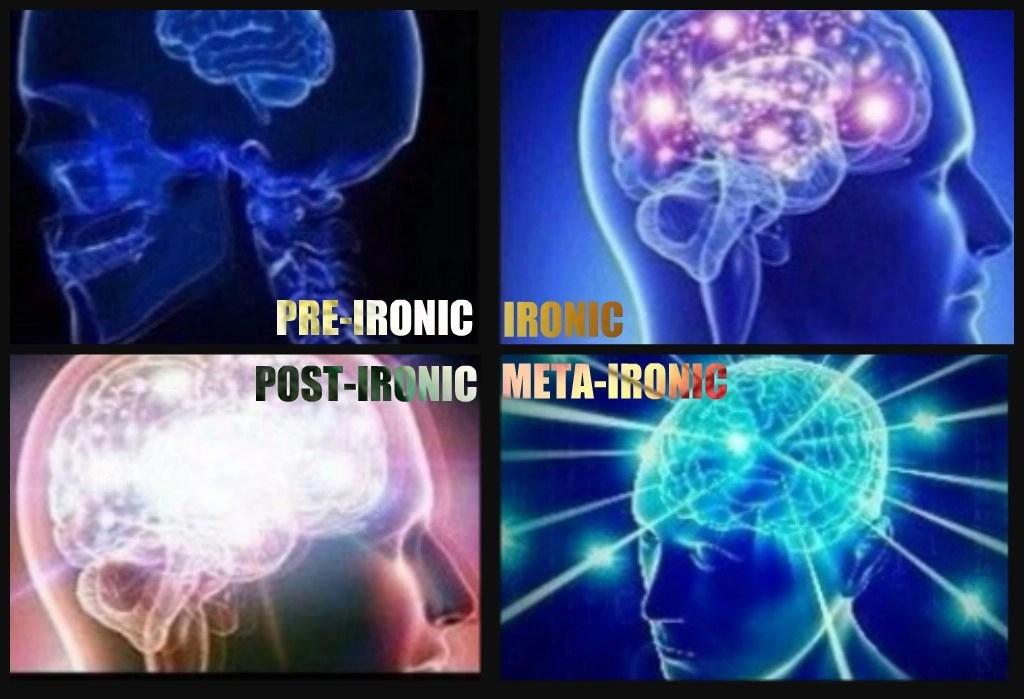 Las cuatro formas de ironía