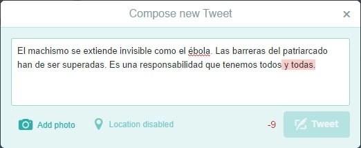 Pide a Twitter que no restrinja el lenguaje inclusivo