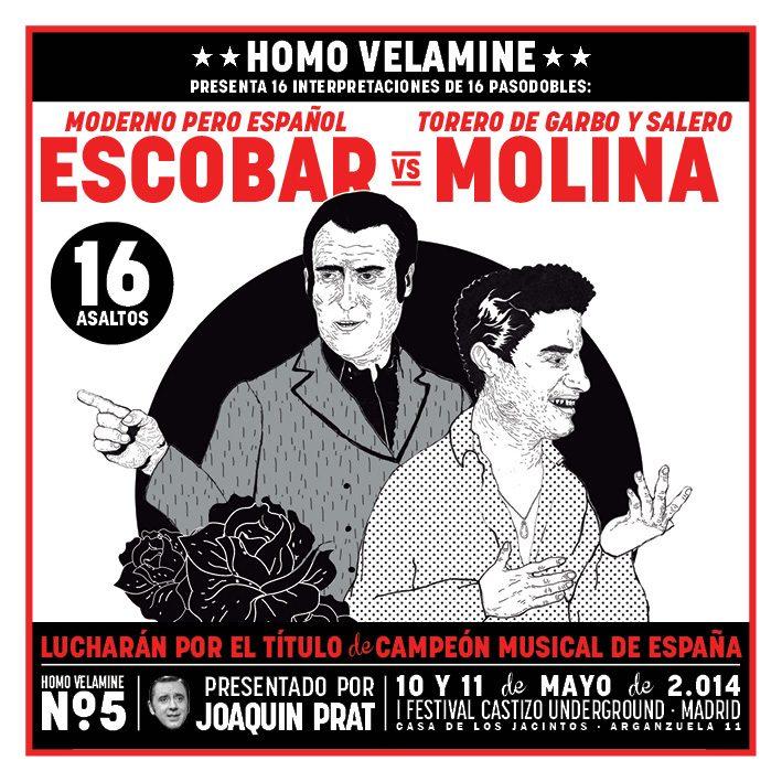 Homo Velamine en el I Festival Castizo Underground