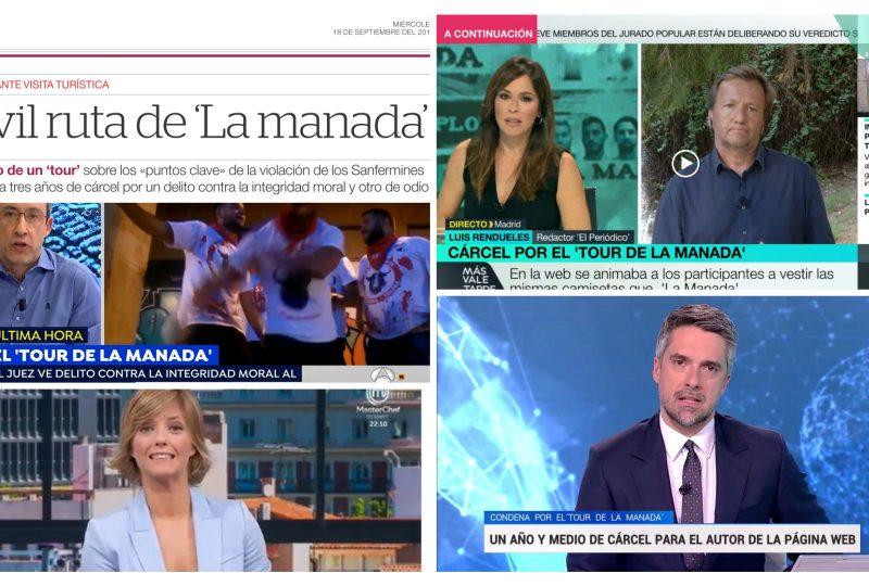 Tour La Manada: La web de la que todo el mundo habla y nadie ha visto