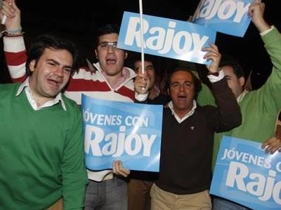 Jóvenes con Rajoy