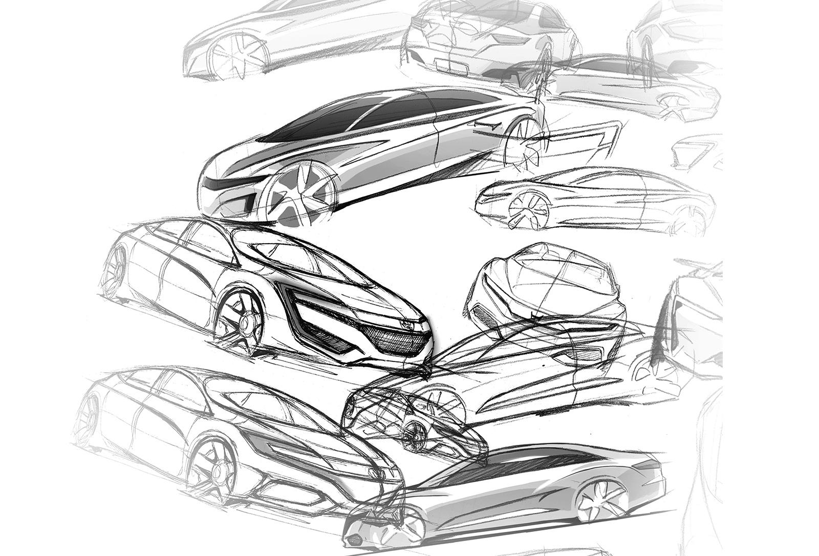 Honda Design The 10th Civic Design Story Sedan
