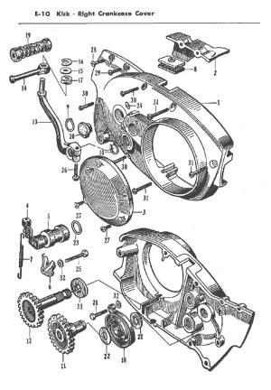 Parts Manual: Honda CB72, CB77, CP77, CYP77  Parts
