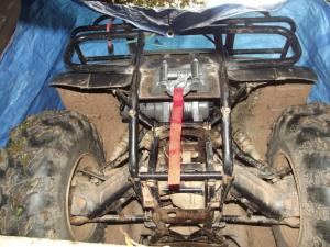Badlands 3000pound Winch Install and Review  Honda ATV Forum