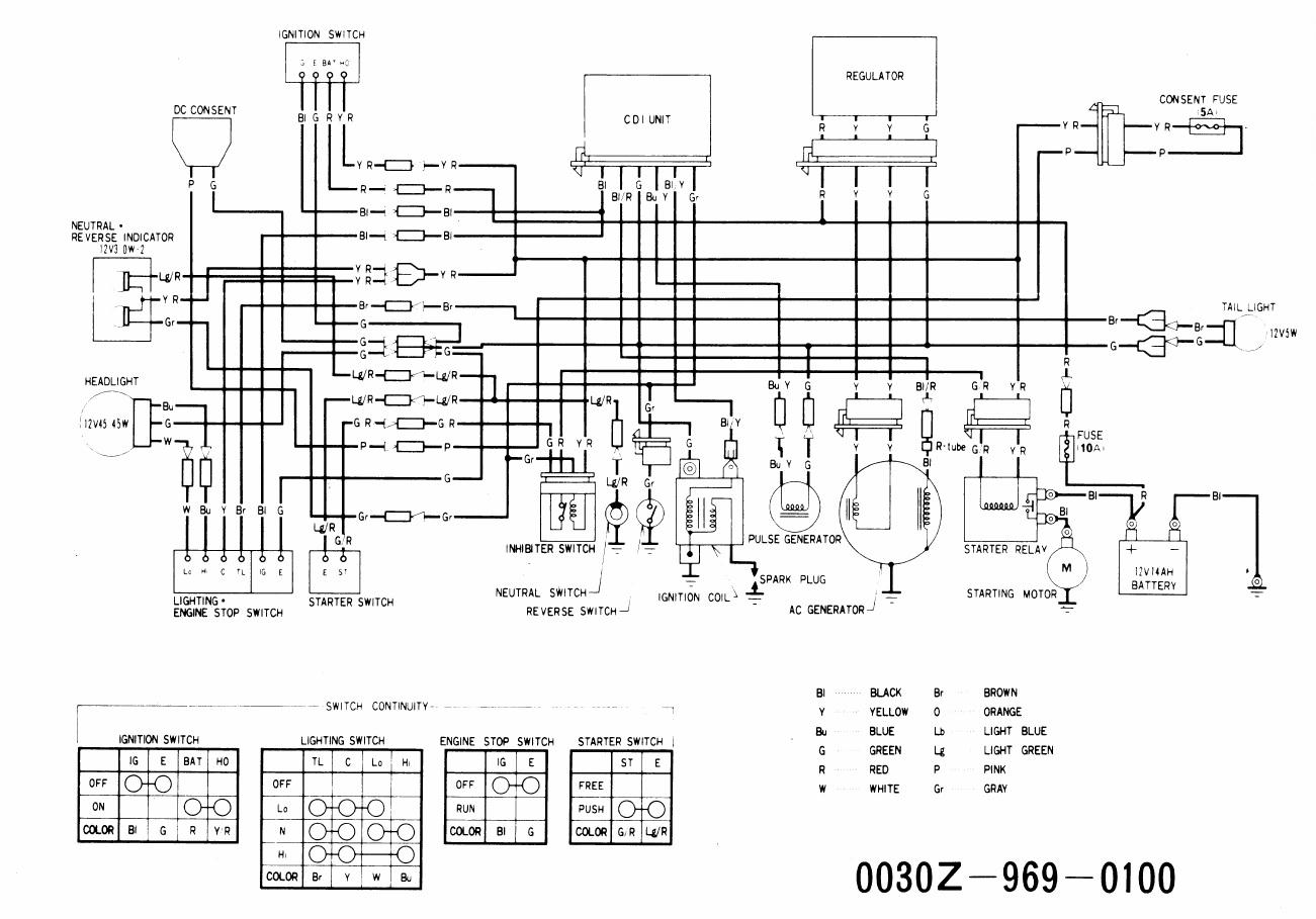 Wiring Diagram For Honda Recon Es