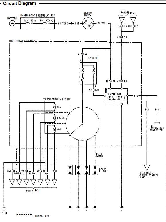 honda d16 distributor wiring diagram  basic guide wiring