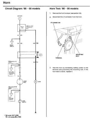 Horn Wiring  HondaCivicForum