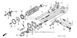 broken shifter repair questions  Honda Foreman Forums : Rubicon, Rincon, Rancher and Recon Forum