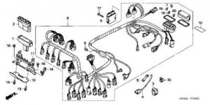Ignition Wiring Diagram Needed for 07 TRX500FAFGA  Honda