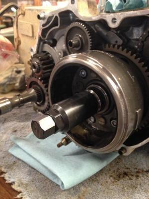 fly wheel removal  Honda Foreman Forums : Rubicon, Rincon, Rancher and Recon Forum