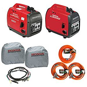 Honda EU2000i and EU2000ic Companion Inverter Generator Parallel Combo Kit