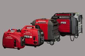 Honda generators security