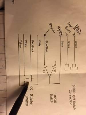 INSTALL: Motion pro startstop switch