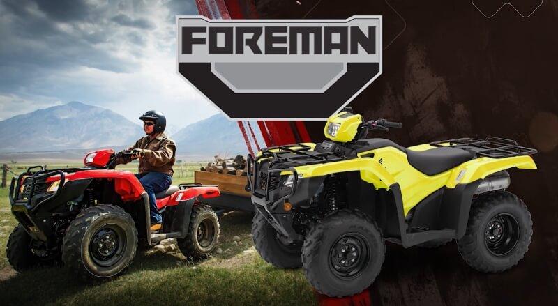 2019 honda foreman 500 es eps atv