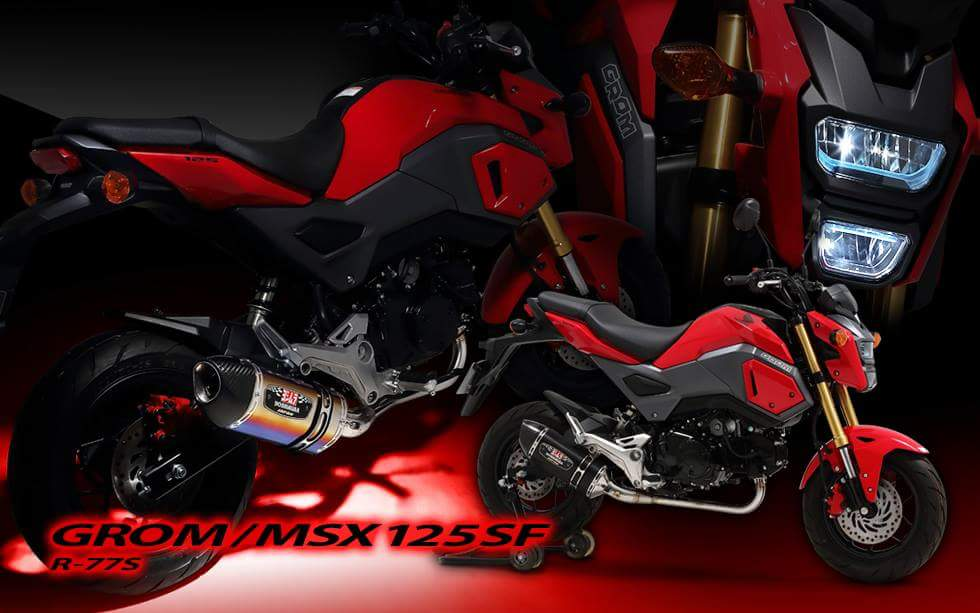 new 2017 honda grom exhaust review rs