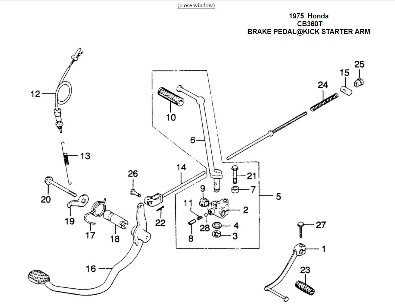 honda cb360 cafe racer wiring diagram database. Black Bedroom Furniture Sets. Home Design Ideas