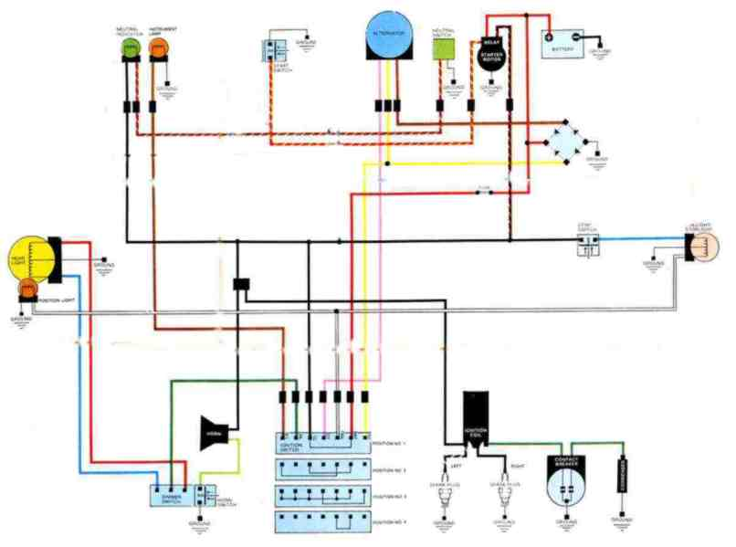 simple wiring harness data diagram