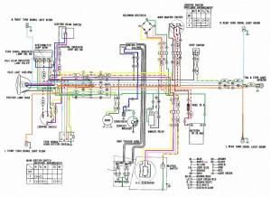 Honda CD175 Wiring Diagram