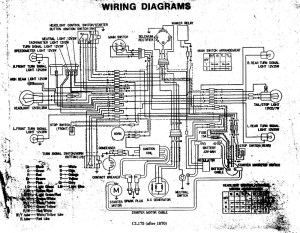 1972 CL175 Wiring DiagramRegulator