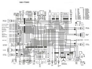 1984 Honda Vt500 Ascot Wiring Diagram | Wiring Library