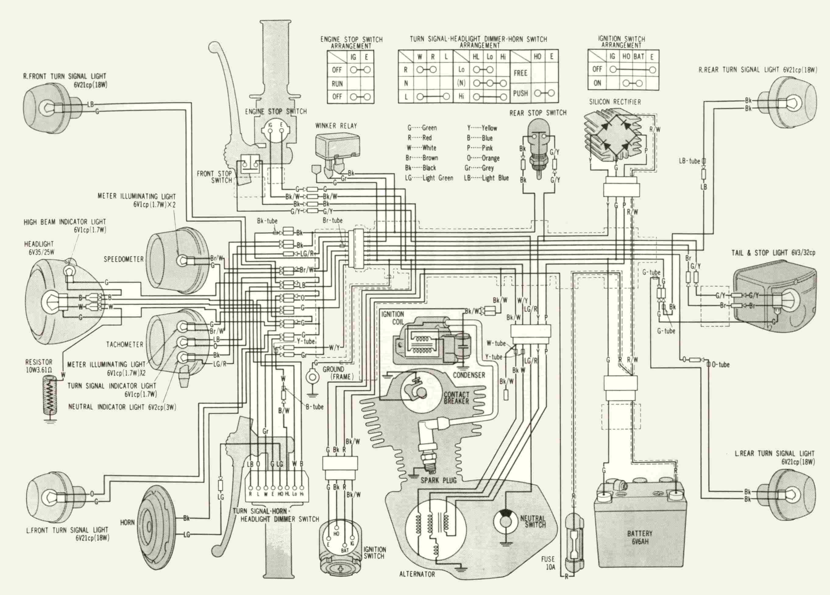 Honda Xl350 Wiring Diagram