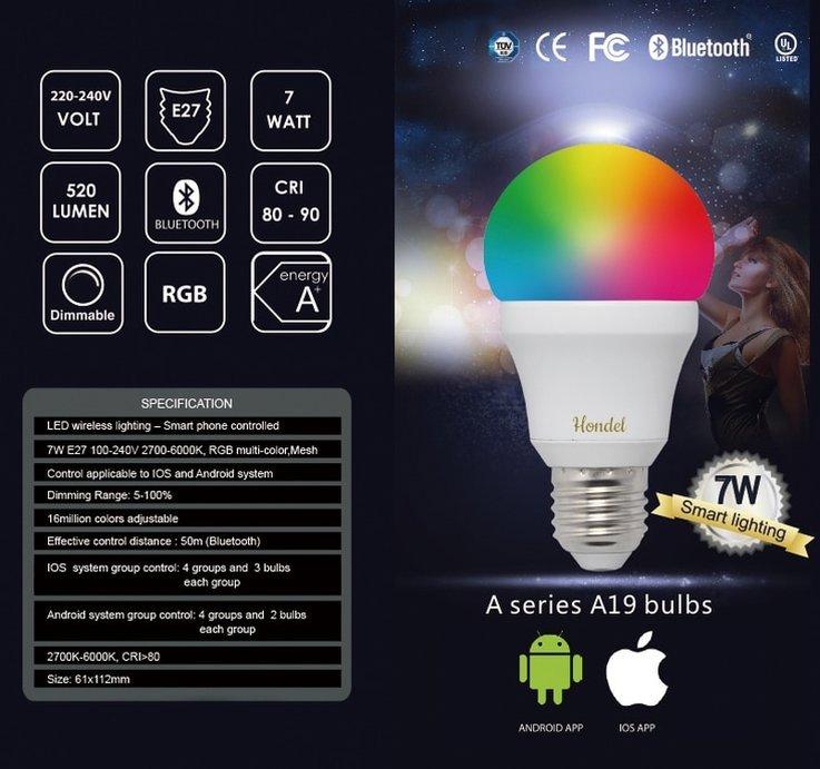 T Type Light Bulb