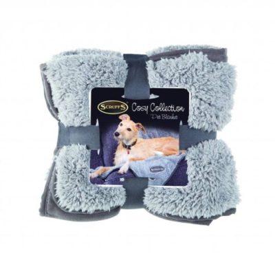 Scruffs deken grijs