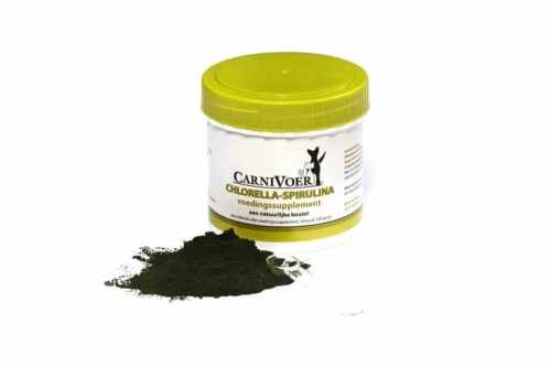 Carnivoer fyto supplement chlorella-spirulina
