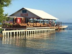 Fun time in Utila, RIP Rehab Bar