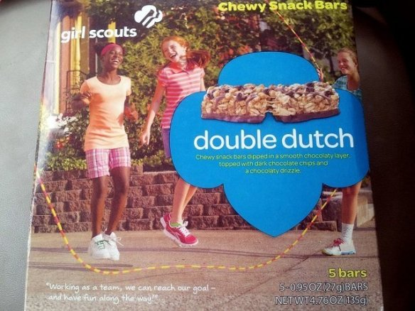 Double Dutch Girl Scout Snack Bars