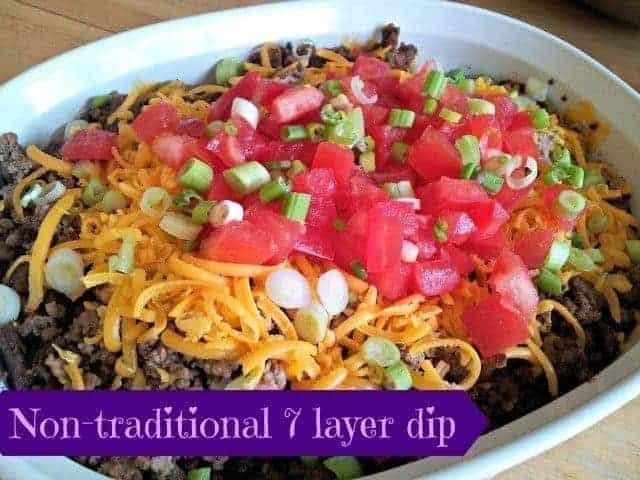 Non-Traditional 7 Layer Dip
