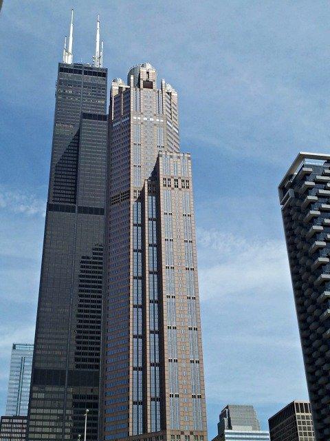 Tall tall Sears Tower