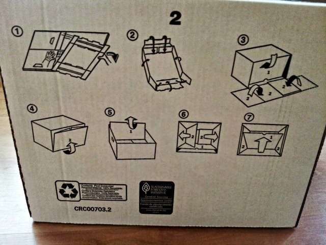 Bankers Boxes visual instructions