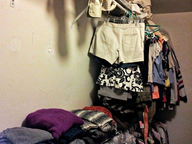 My new closet
