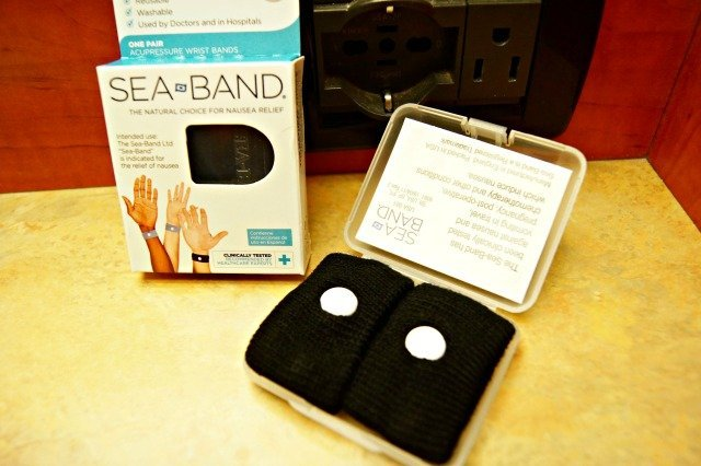 Sea Bands in the package