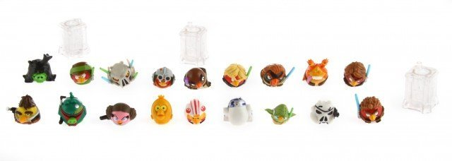 All the Angry Birds Star Wars Telepods characters