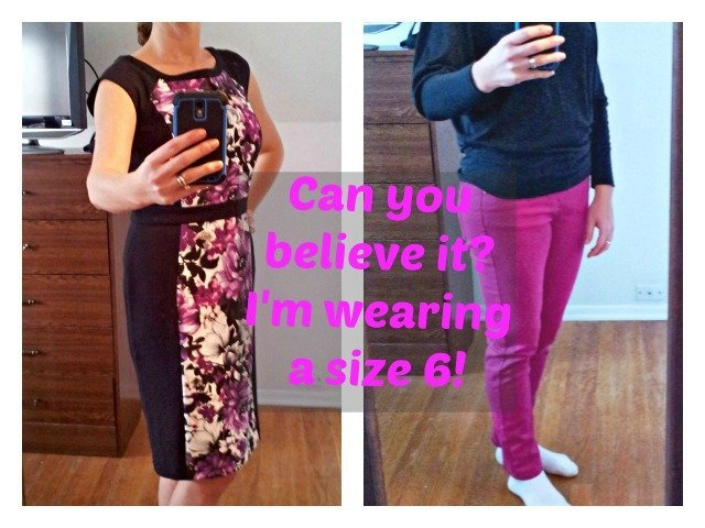 Dress and pants in a size 6 - go figure!