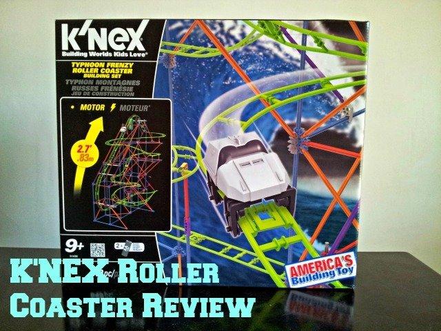 K'NEX Typhoon Frenzy™ Roller Coaster Building Set box