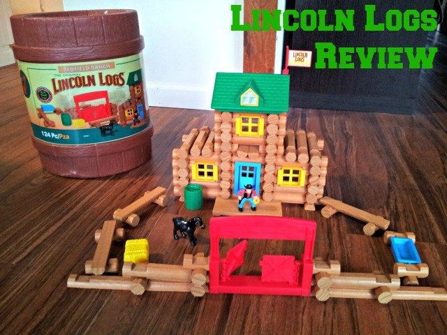 Lincoln Logs Redfield Ranch put together