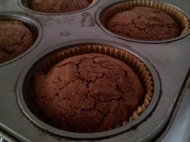 Perfectly baked brownie cupcakes