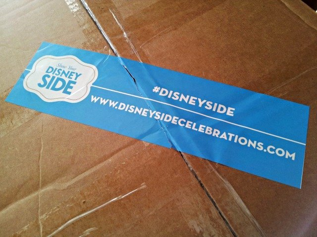 Hosting a Disney @ Home #DisneySide party? Check out what's in the box!