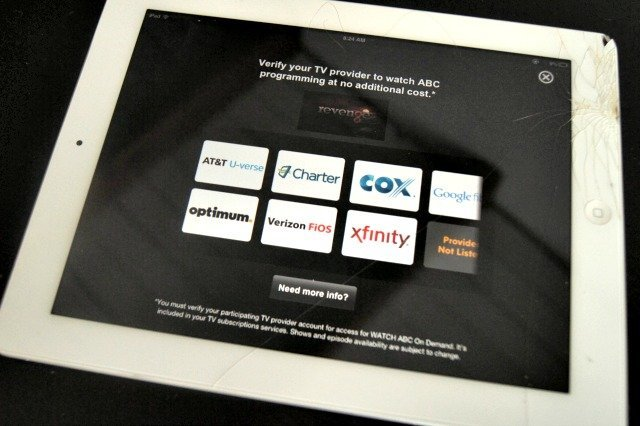 Cable partners that will allow you to watch ABC online