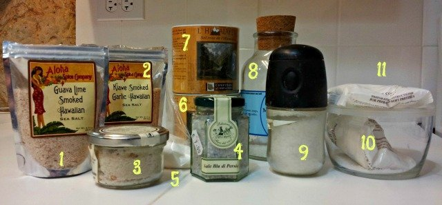 11 varieties of salt