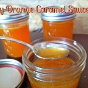 Orange caramel sauce is easy to make and comes together quickly for a unique lighter dessert topping
