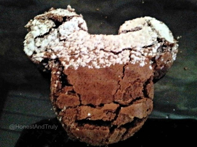 Cut classic brownies into fun shapes like Mickey Mouse Ears for even more delicious fun