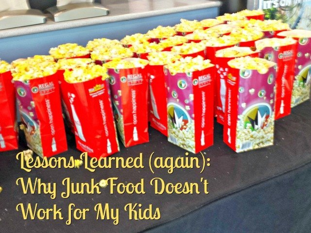 Why junk food and my kids don't mix: behavior changes when you add in dyes and chemicals