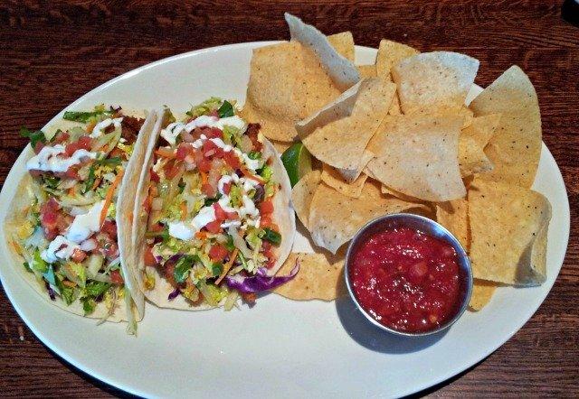 So Cal Fish Tacos from Houlihans